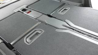 Vauxhall Zafira Changing The Back Seat Formation