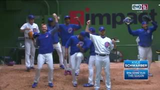 Schwarber's grand slam gives Cubs the lead for good