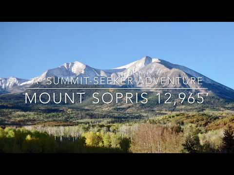 Mount Sopris Hike 9'17