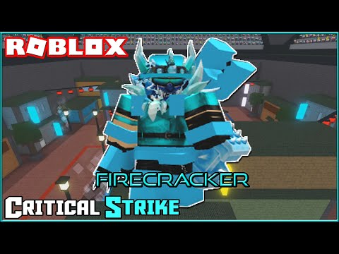 Firecracker Showcase! | ROBLOX - Critical Strike