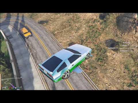 GTA 5 Online Tips - Vertical Parking using DeLuxo