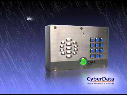 IP65 VoIP Intercom, IP and SIP Secure Entry, Door Intercom Phone