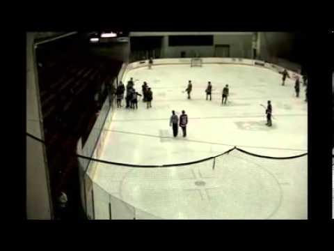 Hockey Player Goes Insane! Marcus Mitchell vs Chase Tippin 12/13/13 Round 1