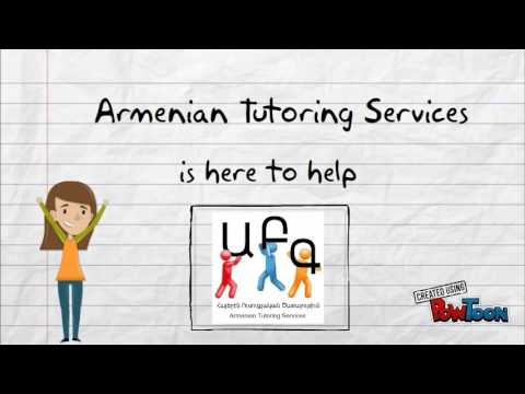Armenian Tutoring Services