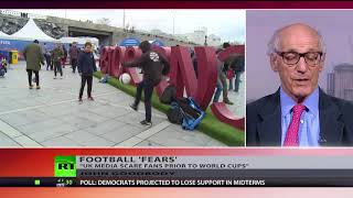 'We're impressed by what we've seen' – English football officials on security in Russia