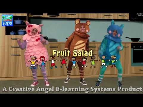 Fruit Salad Nursery Rhymes