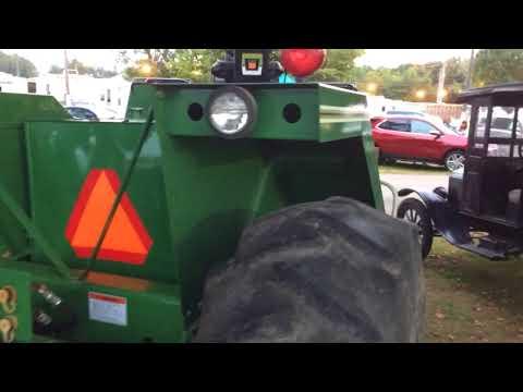 Two rare Oliver tractors