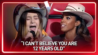 HOWDY! 12-year-old STREET ARTIST brings COUNTRY to The Voice Australia 🤩 | Journey #125