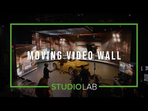 Tracked Moving Video Wall | xR Tech Spotlight | Studio Lab