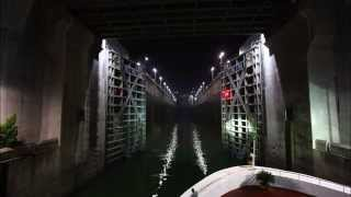 Three Gorges Dam - 5 Stage Lock - Time Lapse
