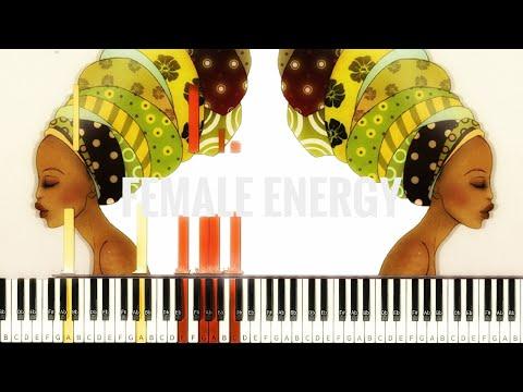 Willow Smith - Female Energy [#reggiewatkins piano synthesia tutorial]
