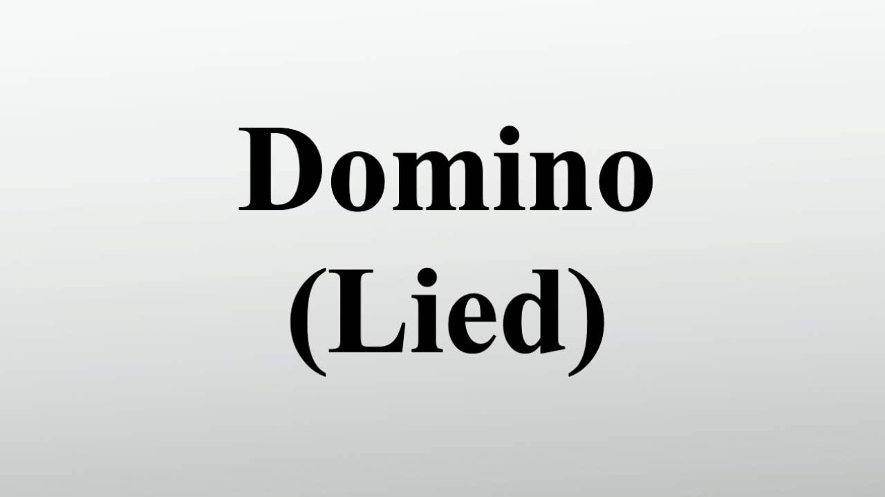Domino (Lied) - YouTube