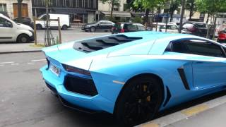 Démarrage Lamborghini aventador lp 700