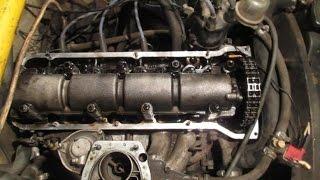 Замена цепи ГРМ без разборки двигателя (классика)
