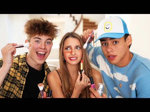 The Guys Try Doing Lexi Rivera's Makeup!