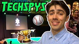 WINNING AWARDS at TECHSPYS (Baseball Award Show)