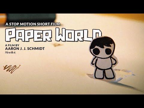 Paper World | Stop Motion Short Film
