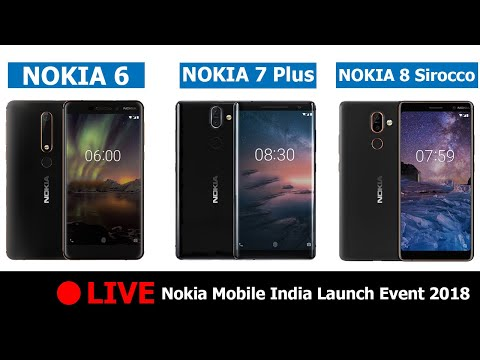 🔴 Live: Nokia Mobile India Launch Event 2018 Hints Nokia 6 (2018) | Nokia 7 Plus | Nokia 8 Sirocco