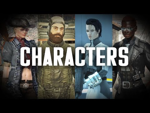 My Characters: Weapons, Armor, Factions, Mods, & Personalities - Fallout 4