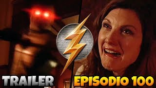 The Flash Temporada 5 Trailer 2 - Episodio Especial N° 100 y Nuevo Villano Planes Explicados