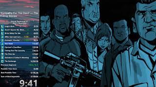 Grand Theft Auto III Any% Dupeless Speedrun in 1:21:09