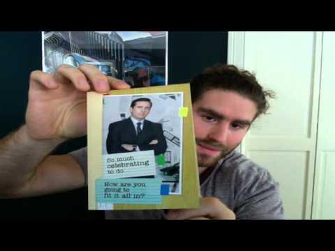 Michael scott birthday card youtube michael scott birthday card bookmarktalkfo Images