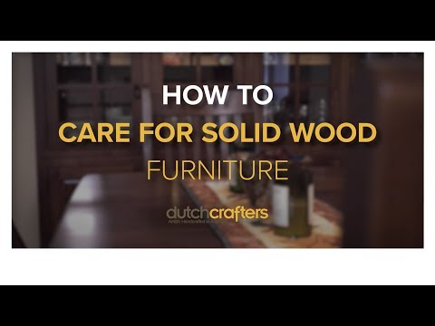 How to Care for Solid Wood Furniture (in 6 Simple Tips)