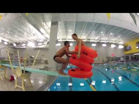 Diving Board Jumps With The Gopro By Angel Beil Doovi