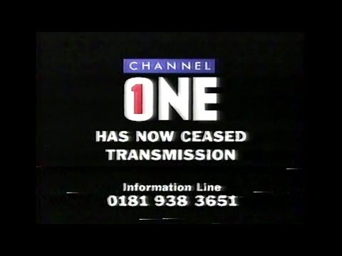 The last hour of Channel One London (25th September 1998)