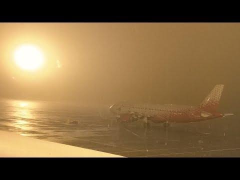 Задержанный перелет SU6462 Челябинск - Санкт-Петербург