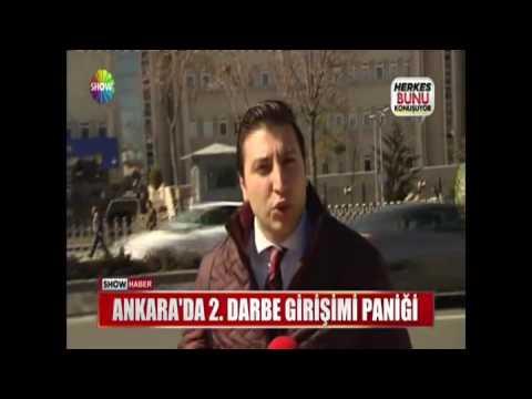 Ankara'da 2.Darbe girişimi paniği