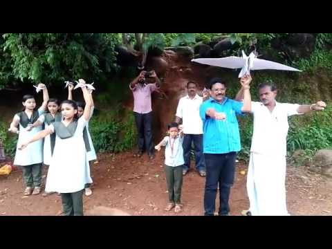 Pledge against WAR in Malayalam  (In a Kerala school )