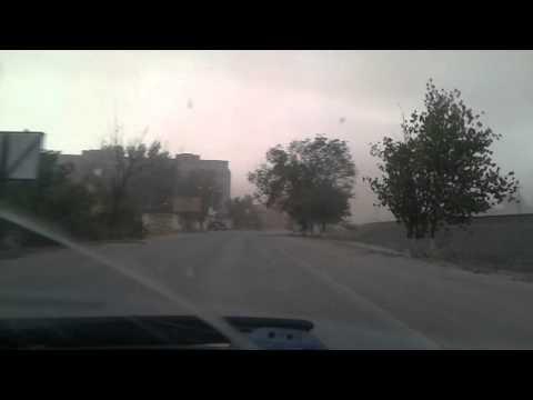 Буря в Ахтубинске Астраханская область