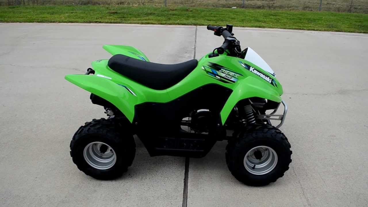 For Sale 1999 00 2013 Kawasaki Kfx50 Kids Atv Youtube