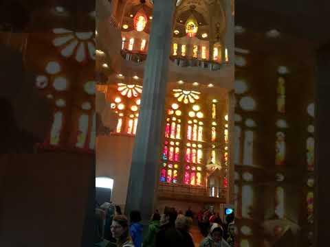 Sagrada Familia church Barcelona Spain 11/10/2017