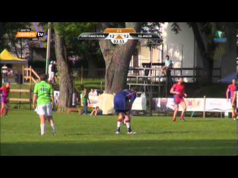 Liechtenstein vs. Iceland 7's Tournament Latvia 2013 Rugby - Full Game