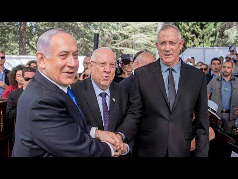 Israel vote count gives Gantz party slim lead, confirms deadlock