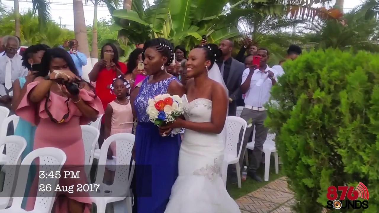 Peta E Carl Jamaican Wedding 2017 Bridge Palm Hotel Clarendon Jamaica
