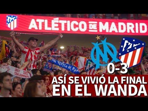 Atlético 3-0 Marsella | Así se vivieron los goles del Atleti en el Wanda Metropolitano | Diario AS