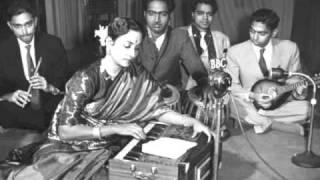 Tera dil bhi gol mera dil bhi gol: Geeta Roy : Film - Shaan (1950)