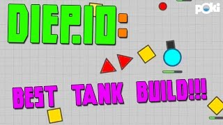 Best Diep.io Strategy! Max Level Tank Walkthrough