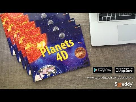 Solar System Book - Planets4D - SareddyTech