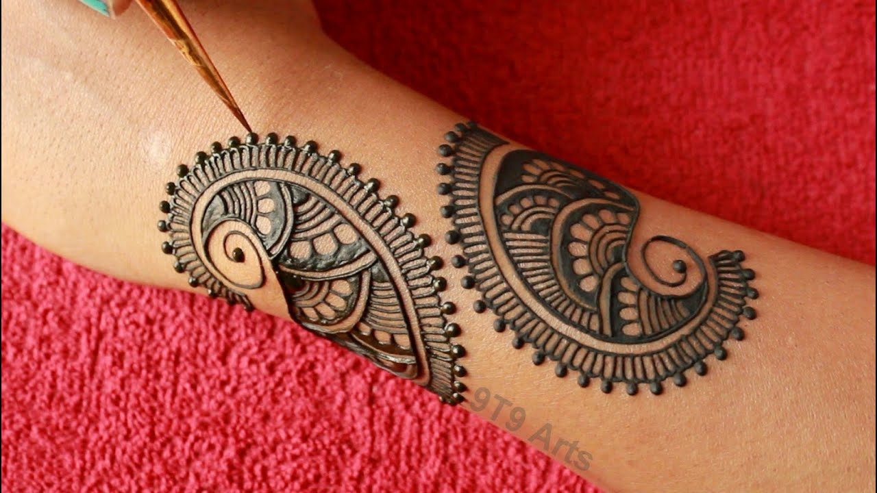 Rakhi 2020 Special Back Hand Jewellery Mehndi Design||Easy mehndi design||Simple Sawan Mehndi Design