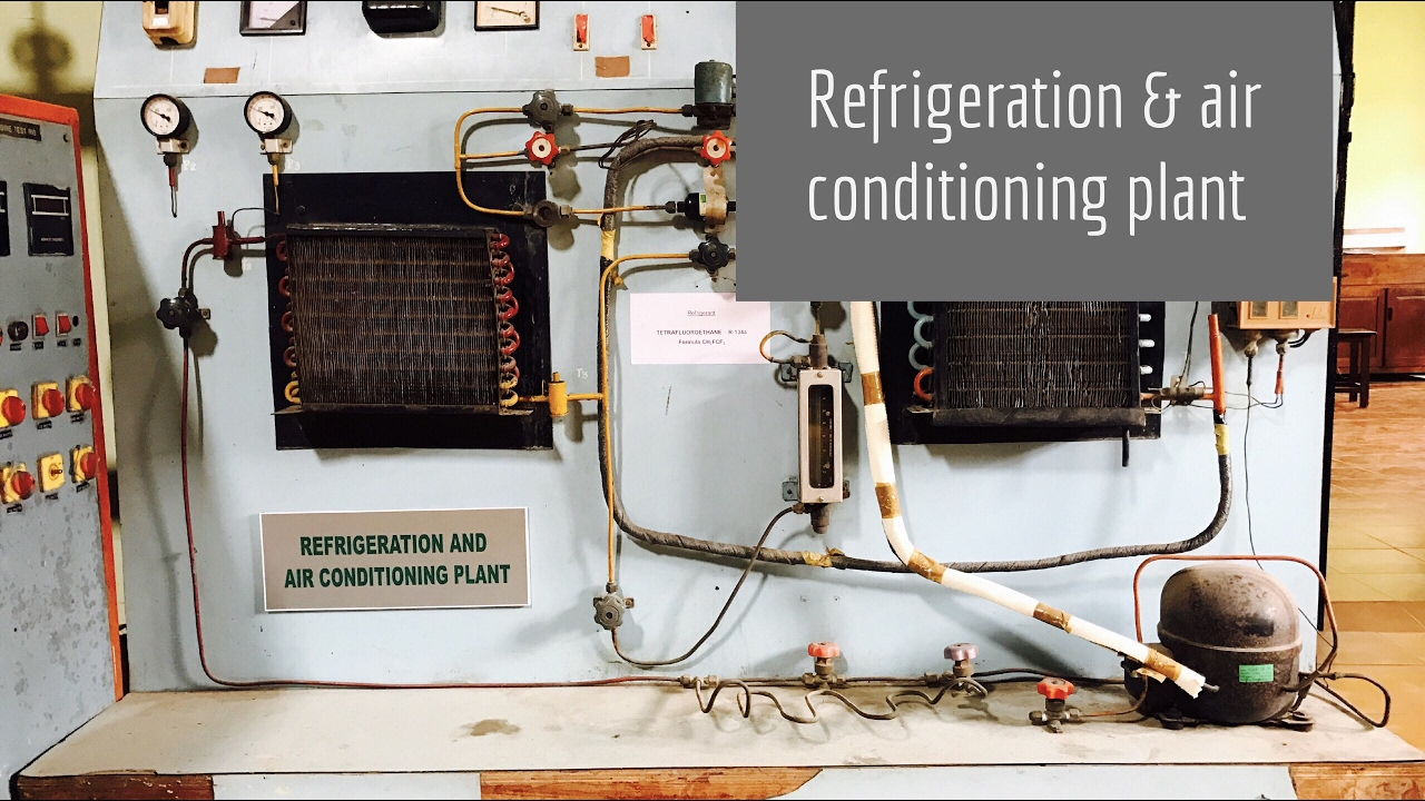 Refrigeration  U0026 Air Conditioning Plant Lab Experiment Quickly   Ud83d Udd25