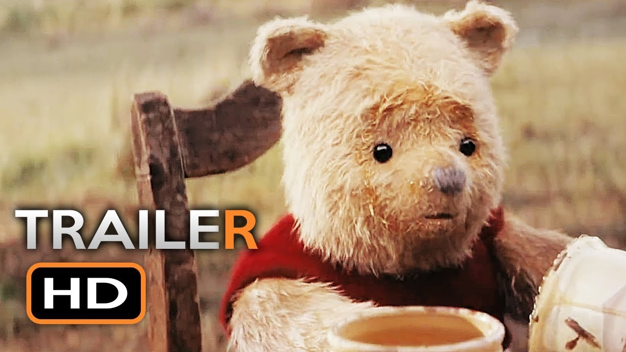 CHRISTOPHER ROBIN Official Trailer 3 (2018) Ewan McGregor Winnie the Pooh Disney Movie HD