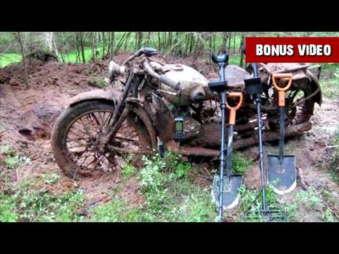 WWII Treasure Buried in the Forest Amazing Relics Of WW2 Metal Detecting