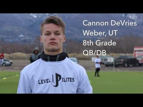 Cannon DeVries- Level Up Elites Youth Showcase 2018