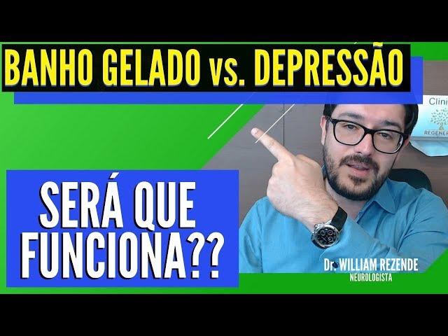 Banho Gelado e Depressão - Tratamento Para Depressão vs. Banho Gelado