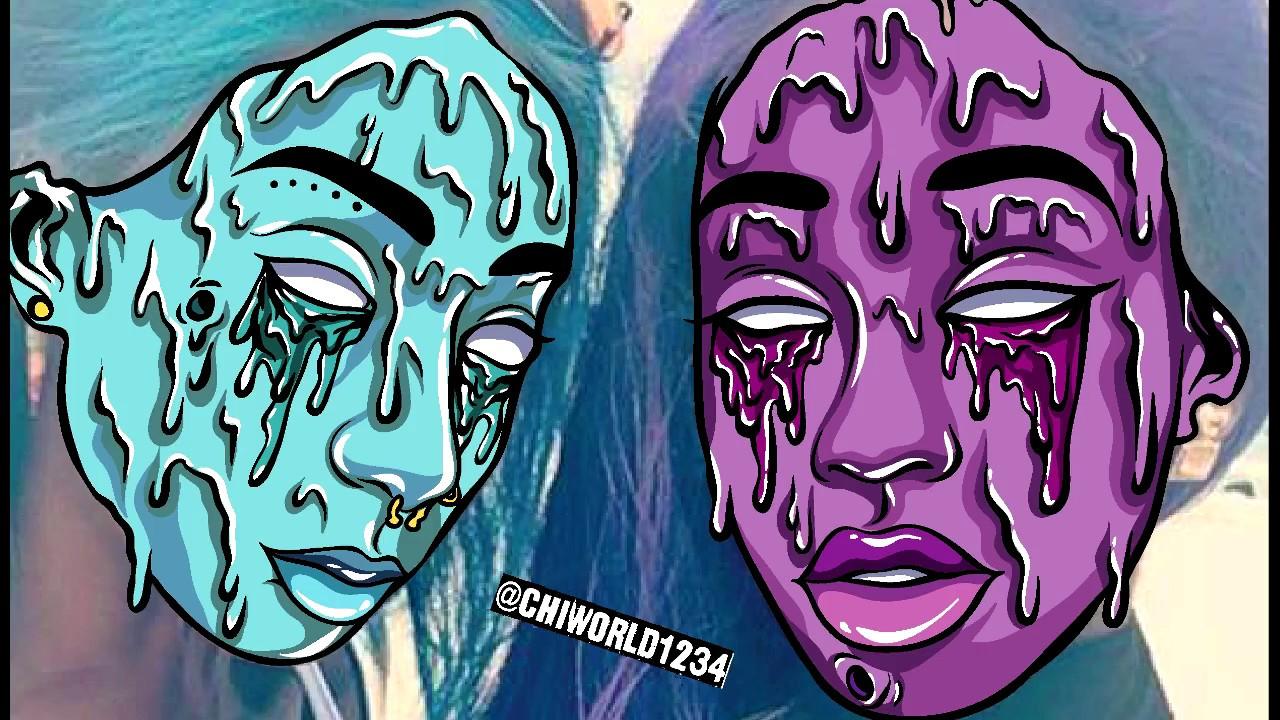 two girls grime art vlog youtube