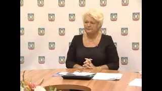Пресс-конференция главы администрации Гатчинского района Елены Любушкиной